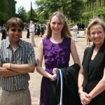 Raj, Kirstin Wilmot (MA), and Prof Di Wilmot